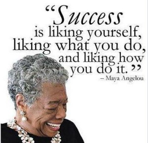 success angelou